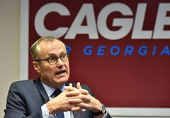 Casey Cagle's tweet on Delta, the NRA and tax breaks. Is it legal?