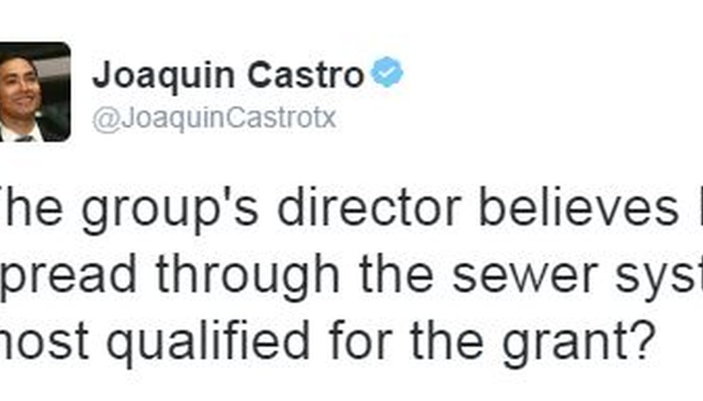 Here's the Aug. 10, 2016 tweet by Rep. Joaquin Castro that drew our attention.