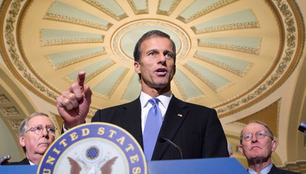 Sen. John Thune, R-S.D., says the Senate will quickly pass the Keystone XL pipeline project. (AP)