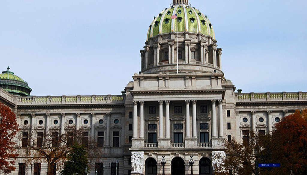 Pennsylvania State Capitol Credit: Harvey Barrison on Flickr