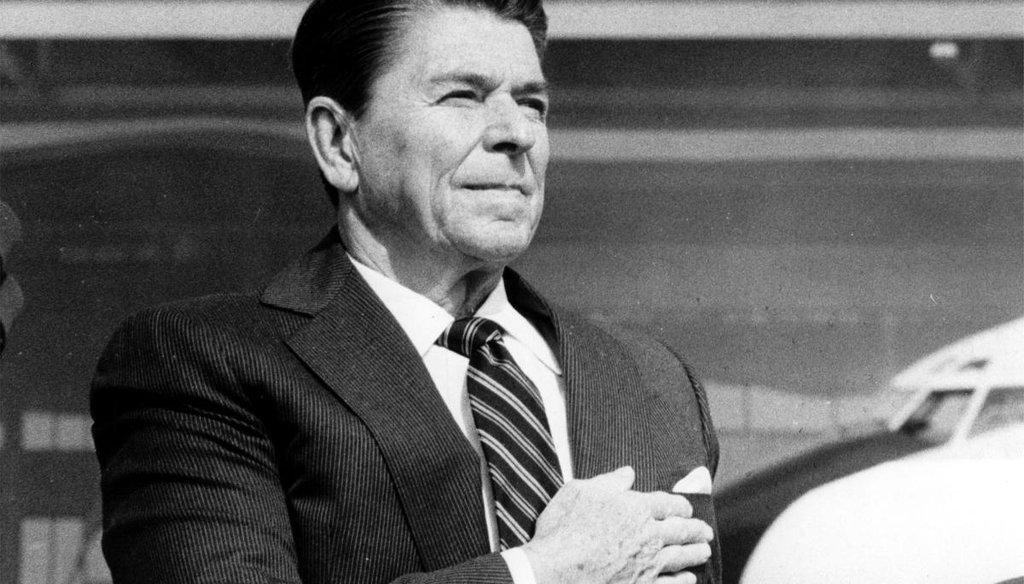 Ronald Reagan. (AP)