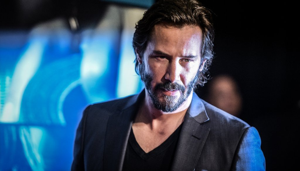 A Facebook fan page has attributed a long quote to Keanu Reeves, but there's no evidence he said it. (Getty Images)