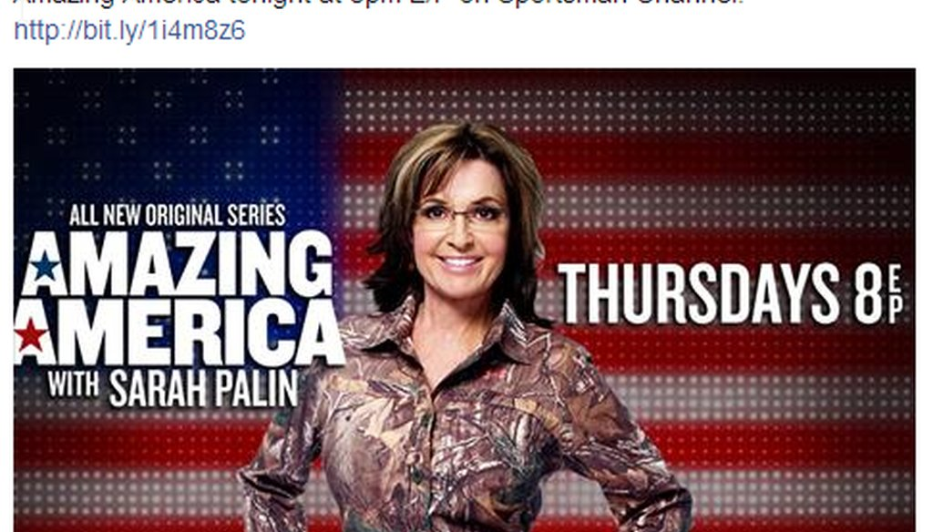 """Sarah Palin recently posted on Facebook that """"your tax dollars are funding the federal government's Zombie Apocalypse Plan."""""""