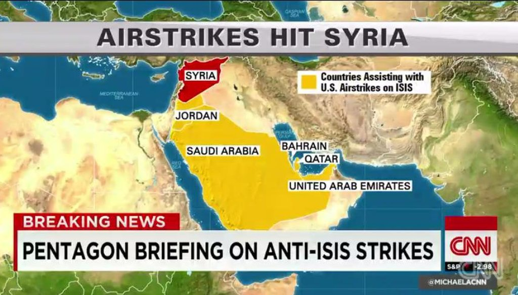 The United States bombing of ISIS targets in Syria has given cable news' military analysts plenty to talk about. Learn more about them in our special report.