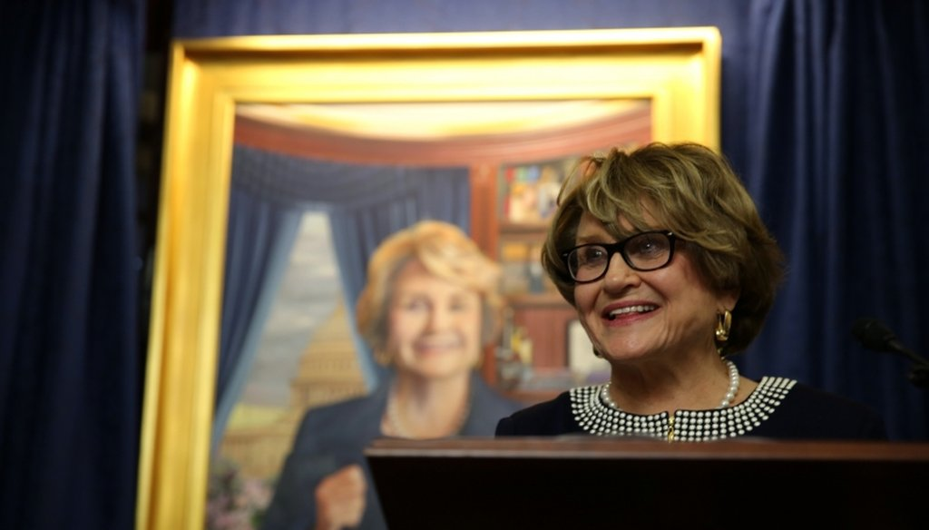 Rep. Louise Slaughter, D-Fairport, claimed ending an Obama era immigration policy could cost New York more than $2.5 billion. (Courtesy: Slaughter's Website)