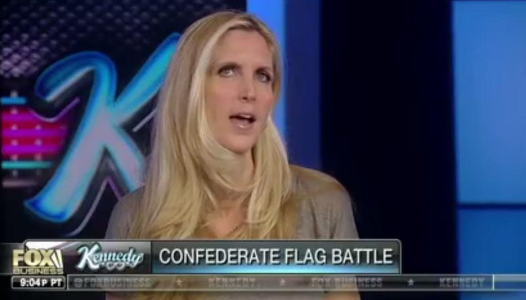 "Ann Coulter on Fox Business' ""Kennedy"" show June 23, 2015."