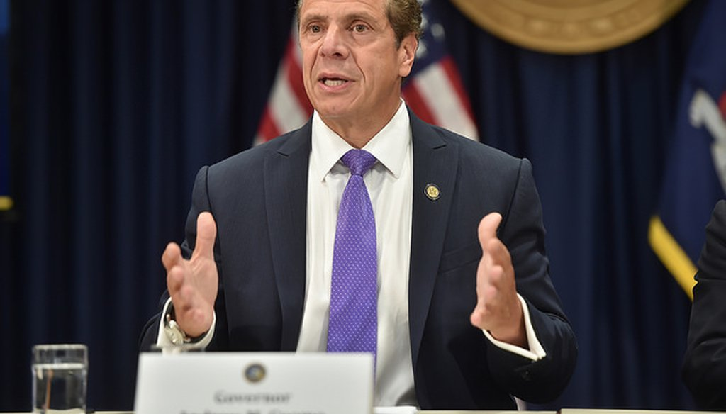 Gov. Andrew M. Cuomo claimed women in New York are protected from a federal decision on health coverage for birth control. (Courtesy: Cuomo's Flickr account)