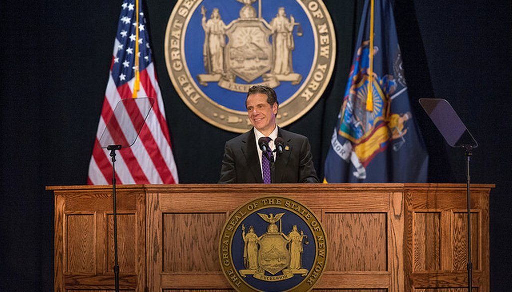 Gov. Andrew M. Cuomo claimed a case before the Supreme Court could end public labor unions. (Courtesy: Cuomo's Flickr account)