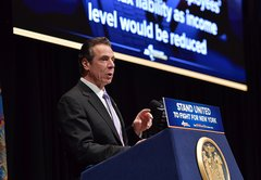 Do many upstate lawmakers not represent a millionaire, as Cuomo said?