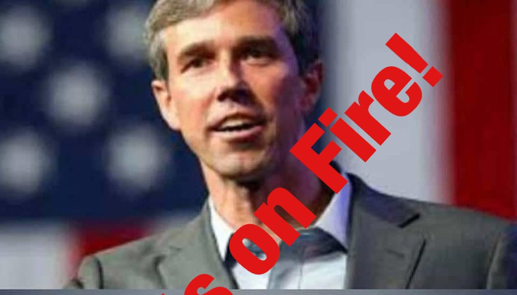 A Facebook post wrongly claims U.S. Rep. Beto O'Rourke dismissed both veterans and elderly Americans.