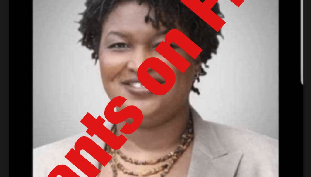 "Stacey Abrams did not say: ""Who needs agriculture when you can just get food at the store?"""