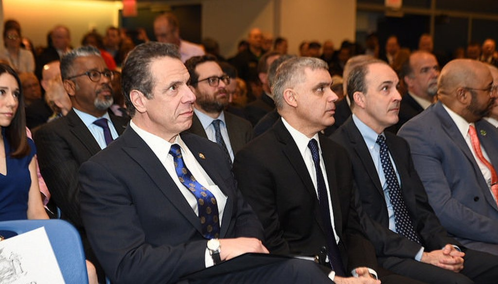Gov. Andrew M. Cuomo claimed that New York state is ahead of other states on legalizing recreational marijuana. (Courtesy: Cuomo's Flickr account)