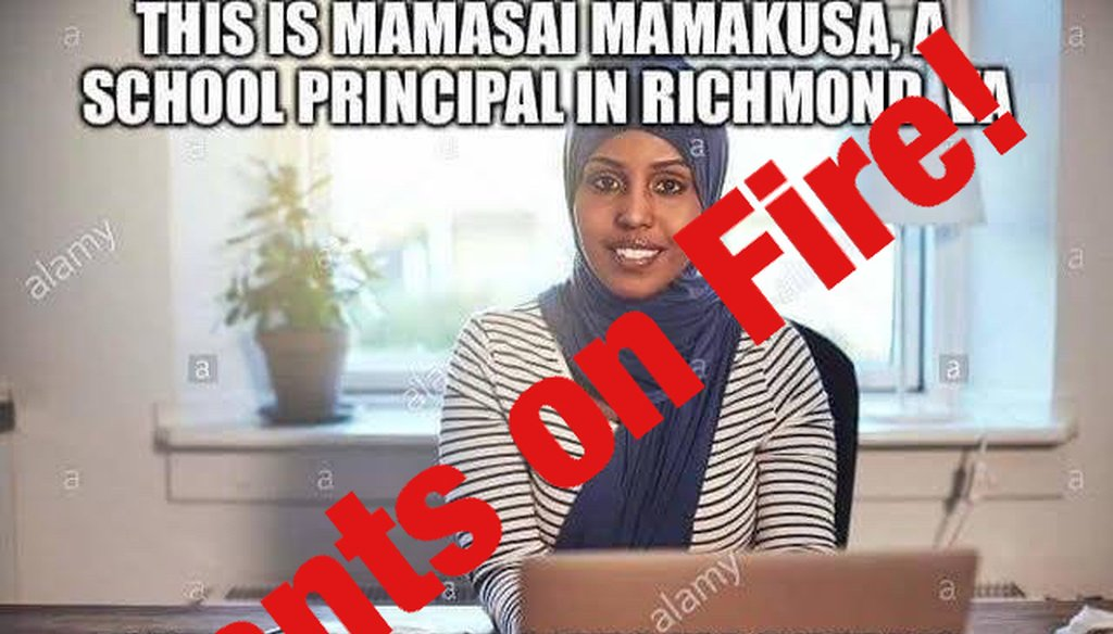 This is a stock photo, not a principal from Richmond, Virginia.