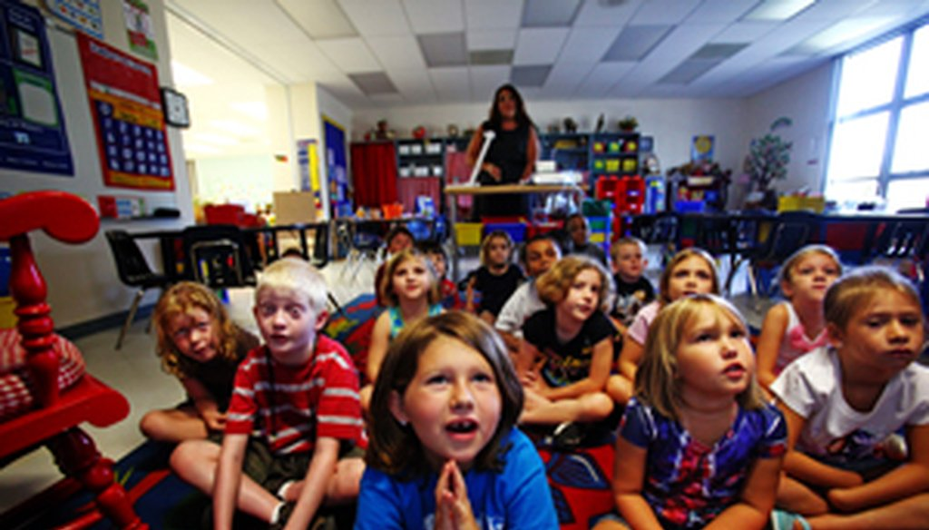 Amendment 8 would loosen the class-size standards approved by voters in 2002.