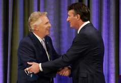 Fact-checking the first McAuliffe-Youngkin debate