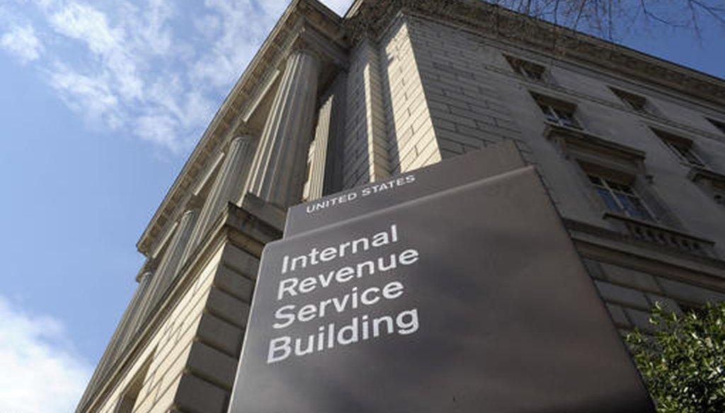 The exterior of the Internal Revenue Service building. (AP/Susan Walsh)