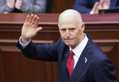 Incoming US Sen. Rick Scott kept half his campaign promises as Florida governor