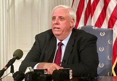 Was W.Va. effectively bankrupt when Jim Justice became governor?
