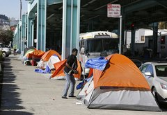 Is there a homeless problem in Facebook's back yard, as Richard Ojeda said?