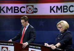Claire McCaskill, Josh Hawley argue over immigration, taxes in final Senate debate
