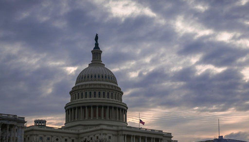 The U.S. Capitol in December 2018 (AP/J. Scott Applewhite)