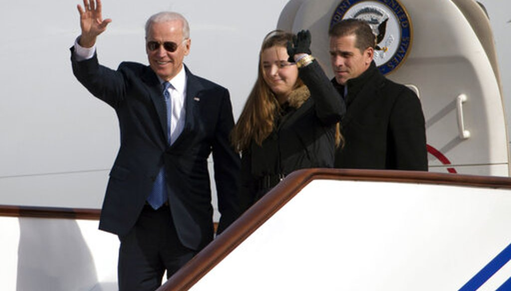 PolitiFact - Fact-checking claims about Hunter Biden, Joe Biden, and China
