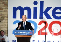 The Stump Speech Analyzer: Michael Bloomberg
