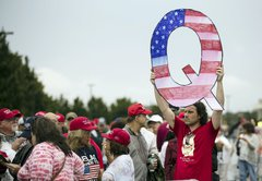What is QAnon, the baseless conspiracy spilling into US politics?