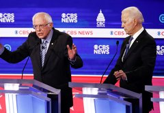 Fact-checking the Joe Biden-Bernie Sanders face-off: Long records, ample attacks