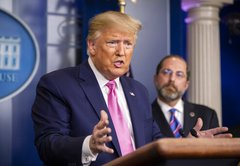 Fact-checking President Donald Trump on the coronavirus