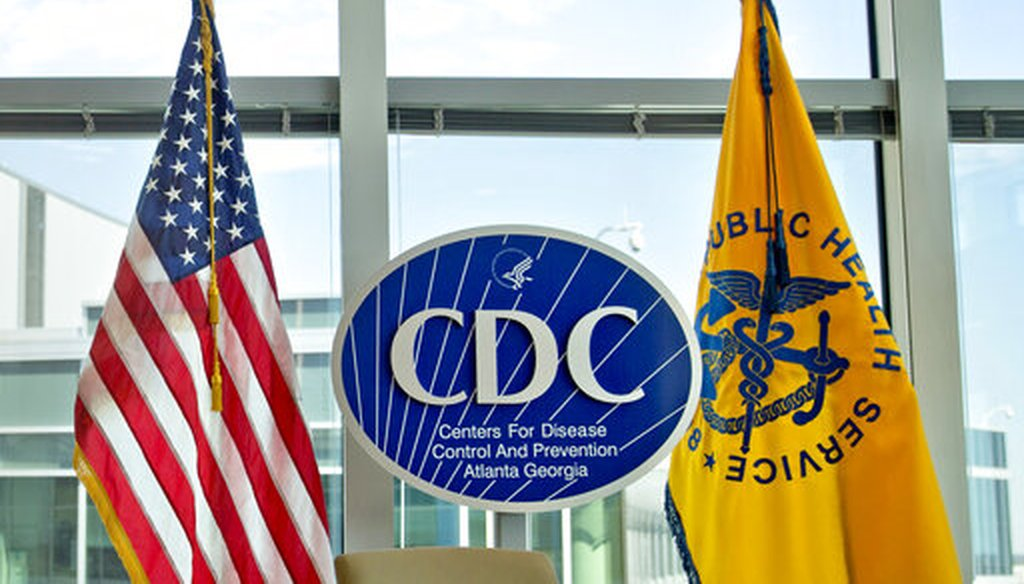 A Centers for Disease Control and Prevention logo at the agency's federal headquarters in Atlanta on Nov. 19, 2013. (AP/file)