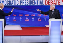 Fact-checking the Sanders-Biden primary debate