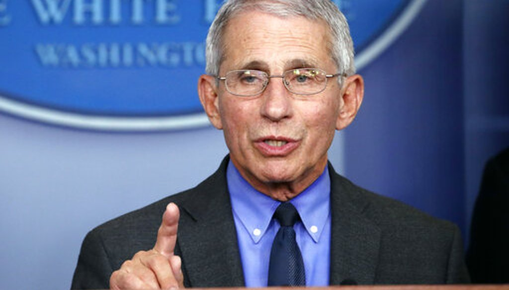 Dr. Anthony Fauci (AP)