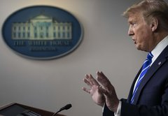 In Context: What Donald Trump said about disinfectant, sun and coronavirus