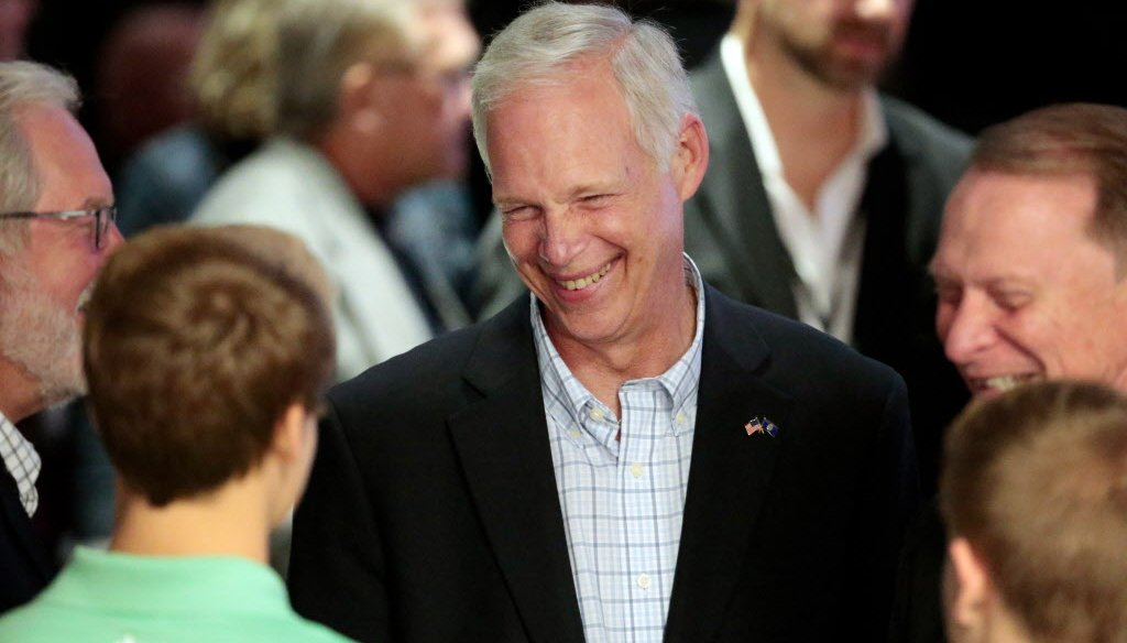 U.S. Sen. Ron Johnson is a Republican from Wisconsin.  (Associated Press)