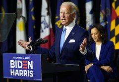 A closer look at Joe Biden's attack on Donald Trump's jobs record