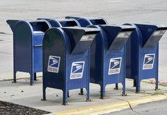 What's happening with mailboxes and mail-sorting machines?