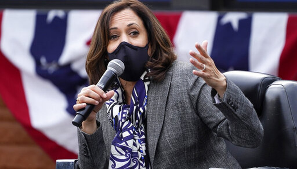 PolitiFact | Local, national interviews show Kamala Harris has taken questions from media