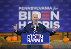 Fact-checking Joe Biden's closing arguments of the 2020 campaign