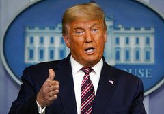 Fact-checking Trump's election fraud falsehoods in White House remarks