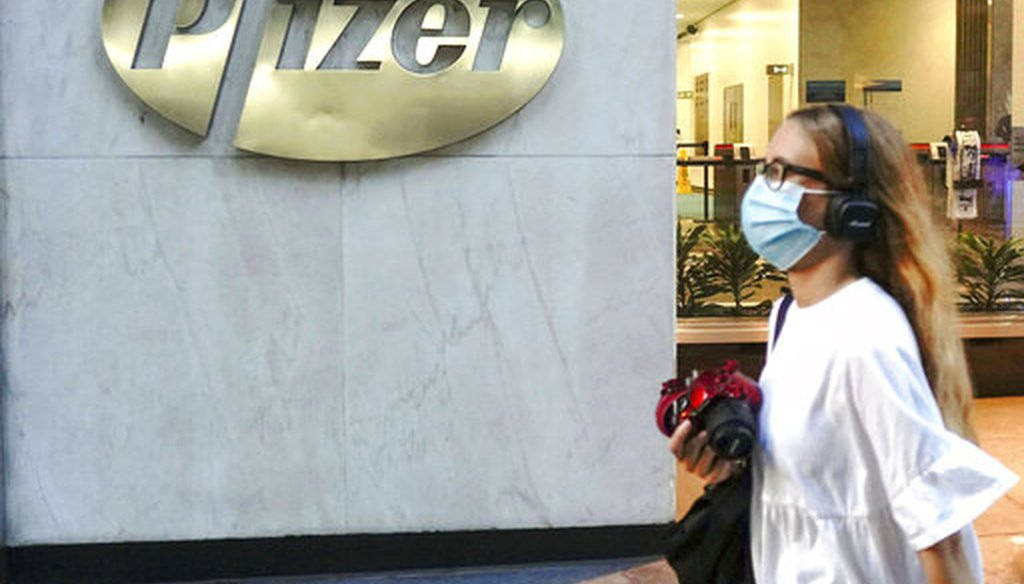 New York-based Pfizer Inc. reported Nov. 9, 2020, that its coronavirus vaccine is more than 90% effective in preventing COVID-19. File Photo by: zz/John Nacion/STAR MAX/IPx 2020
