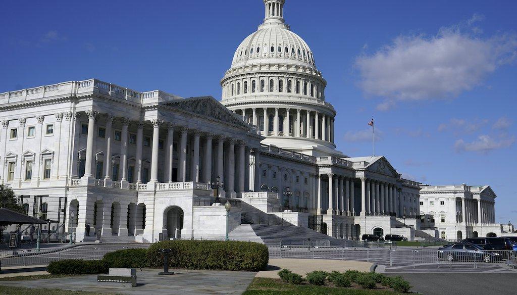 The U.S. Capitol building in Washington. (AP)