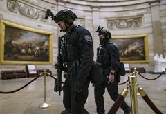 Black Lives Matter protests and the Capitol assault: Comparing the police response