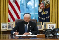 Facebook post laments Biden's first actions with false claims
