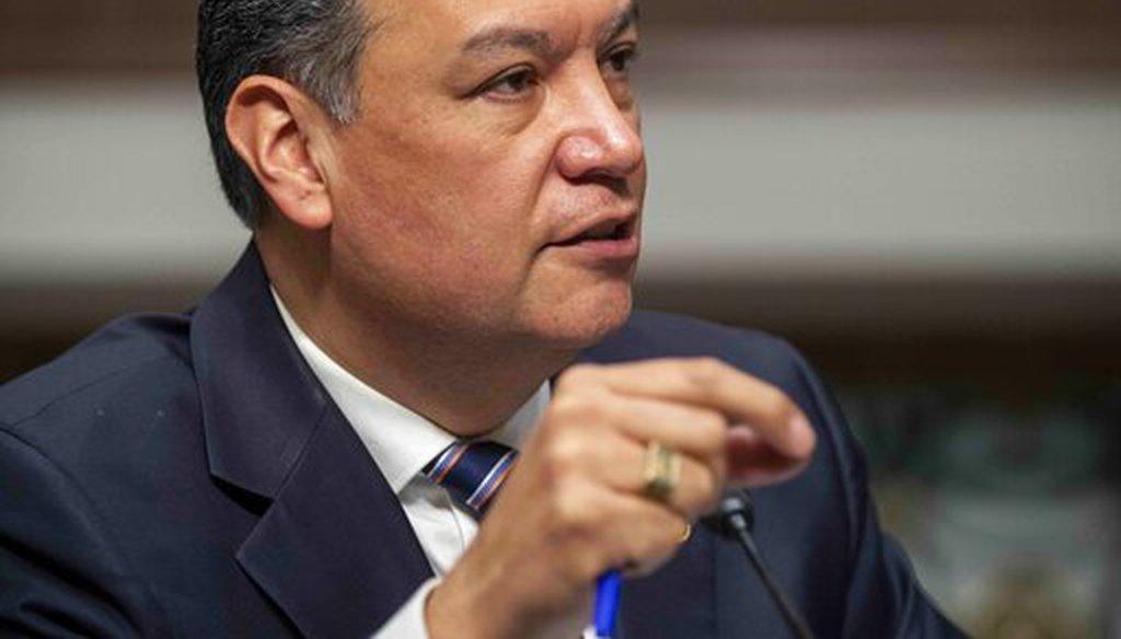 Sen. Alex Padilla, D-Calif., on March 3, 2021. (AP)