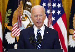 Fact-checking Joe Biden's first White House press conference