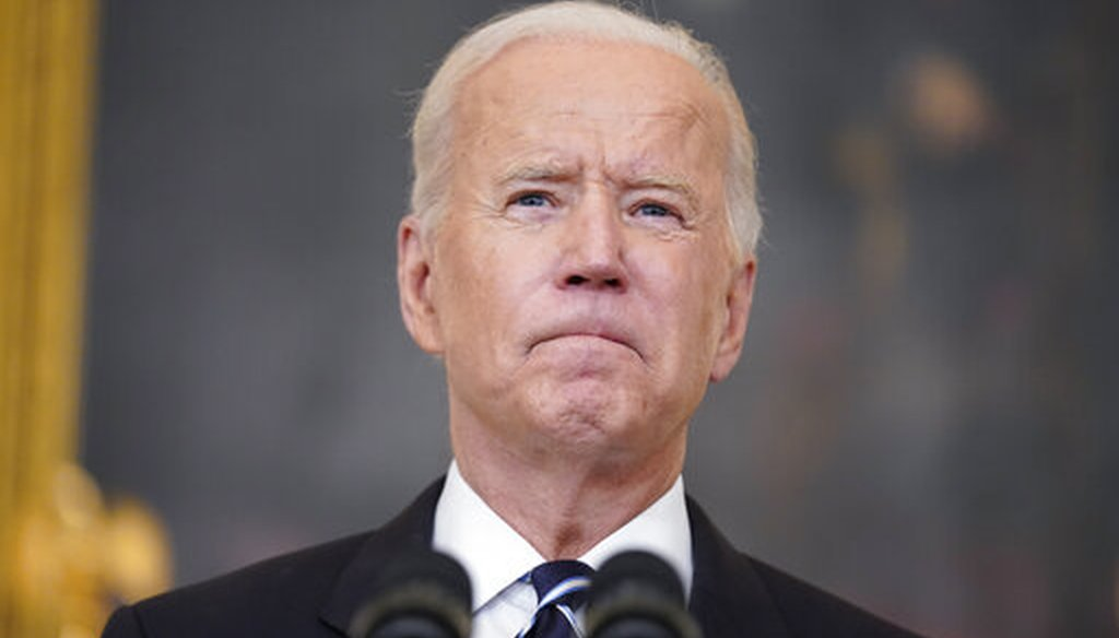 President Joe Biden speaks at the White House on Sept. 9, 2021, to announce sweeping new federal vaccine requirements. (AP)