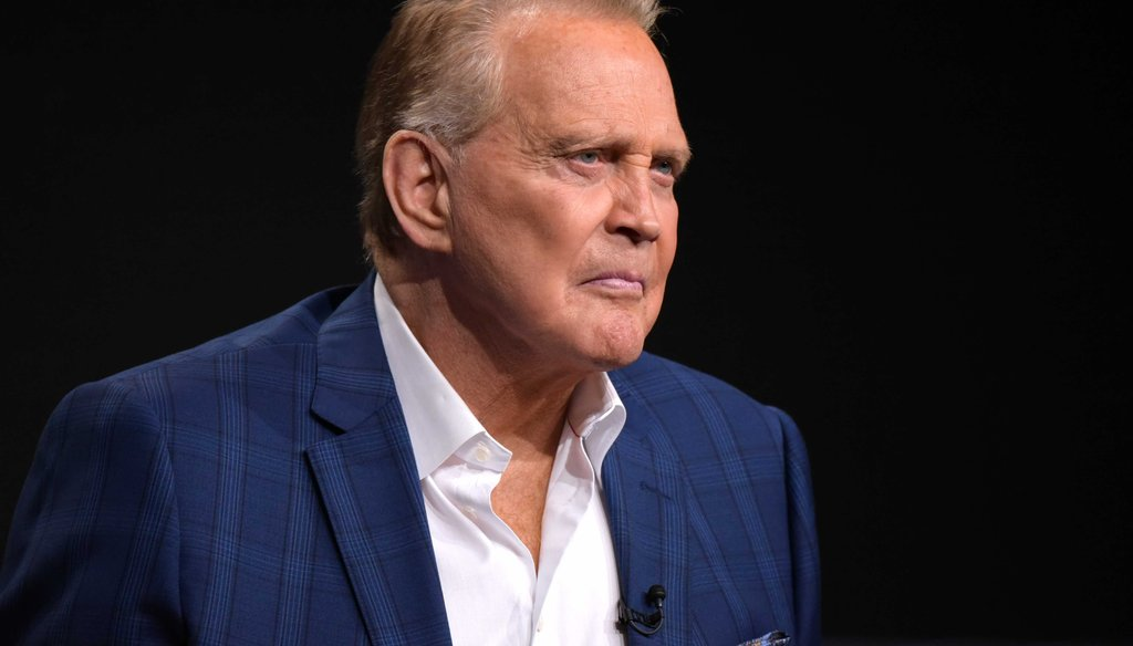 "Lee Majors participates in the ""Ash vs. Evil Dead"" panel during the Starz Television Critics Association summer press tour on Aug. 1, 2016, in Beverly Hills, Calif. (AP)"