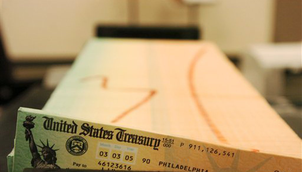 The U.S. began a major shift to electronic Social Security benefit payments in 2010, but some recipients still get mailed checks. (AP)