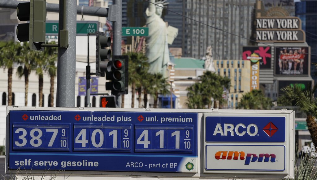 Gas prices are up, and politicians are pouncing.
